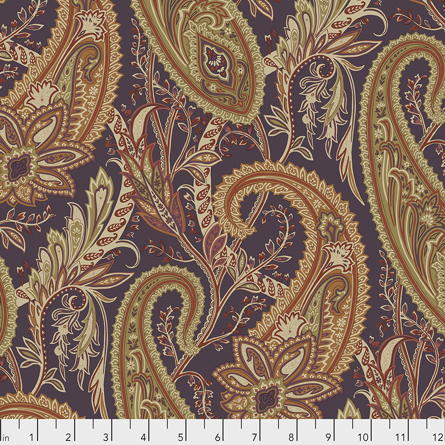 Free Spirit Cashmere Paisley - Spice