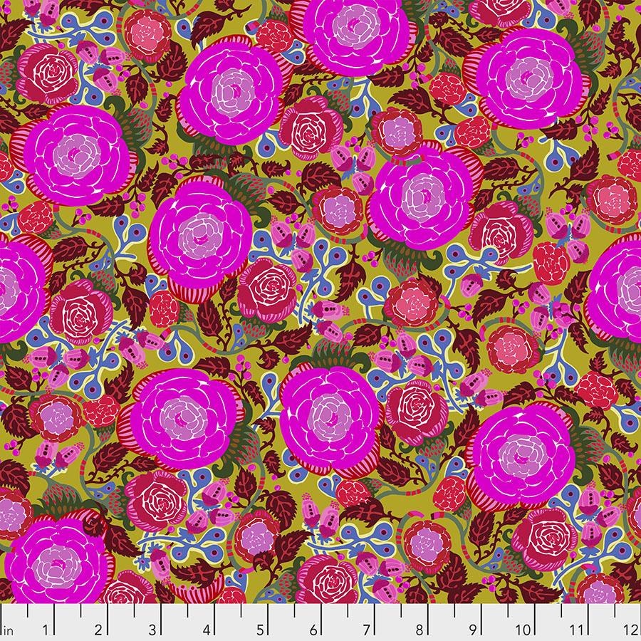 Vibrant Blooms Rose - Fuchsia
