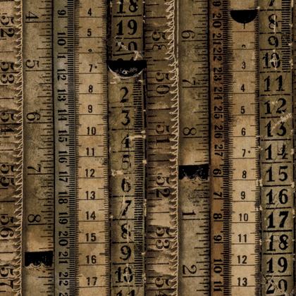 Tape Measures - Neutral Brown