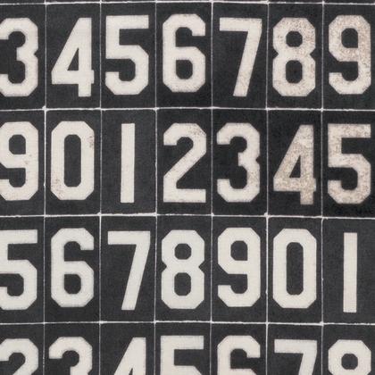 Numbers - Black