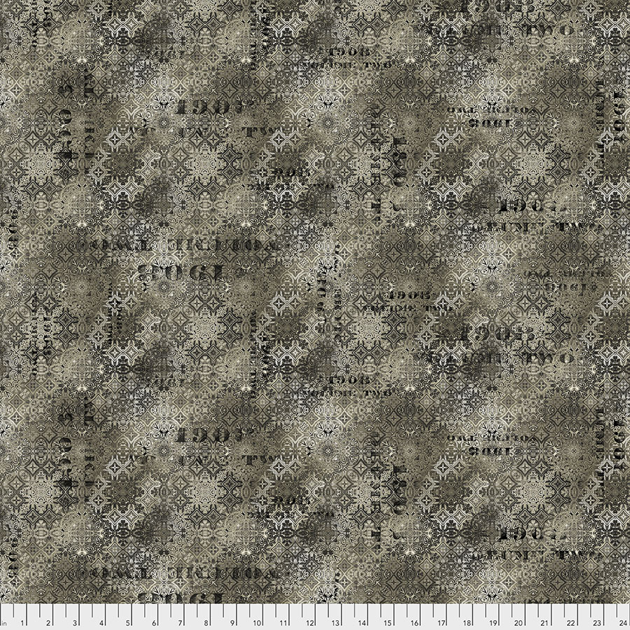 Free Spirit Fabrics Abandoned PWTH129 Faded Tile - Neutral