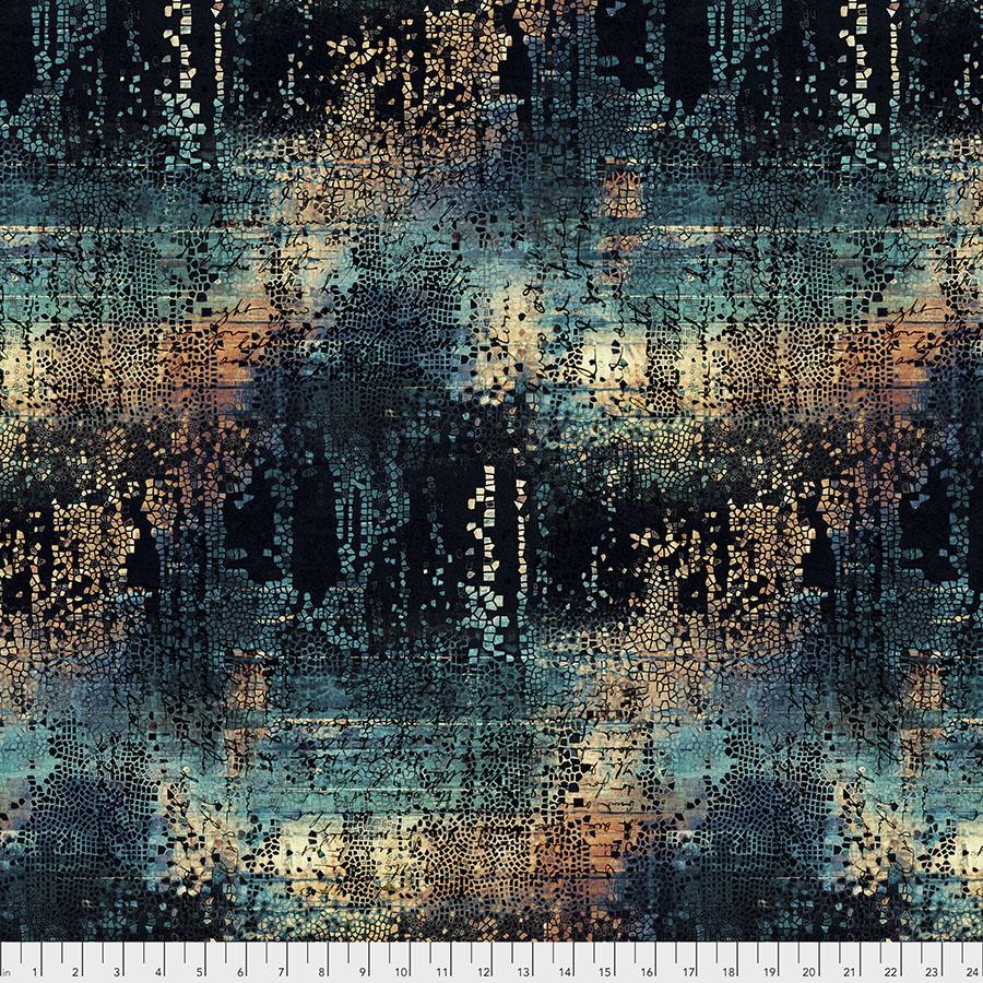Abandoned PWTH130.INDIGO Fractured Mosaic