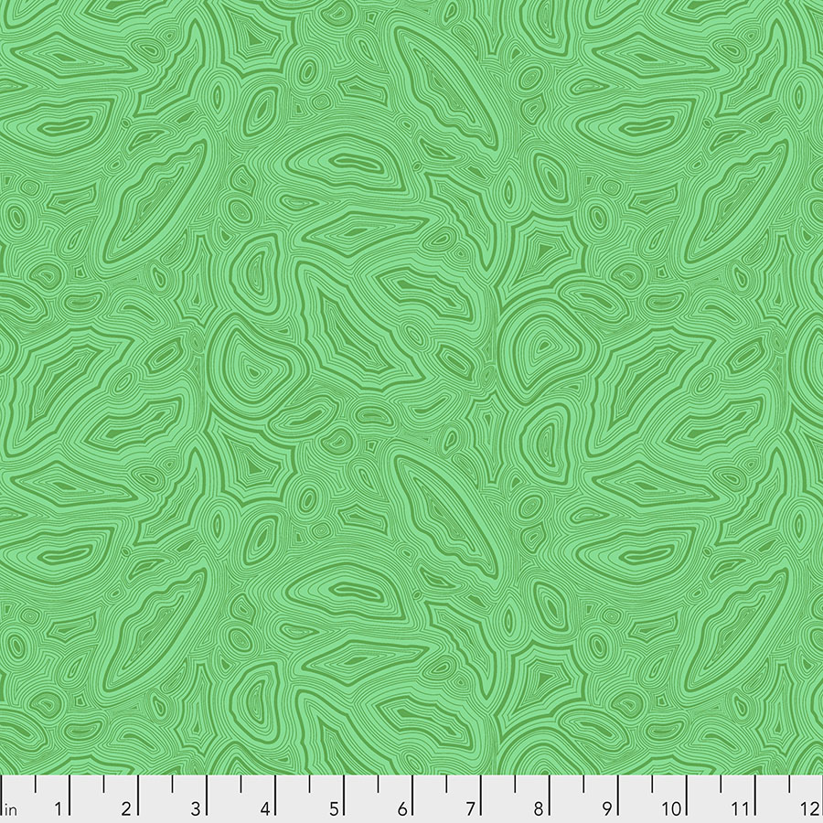 Mineral - Emerald-True colors by Tula Pink for Free Spirit Fabrics
