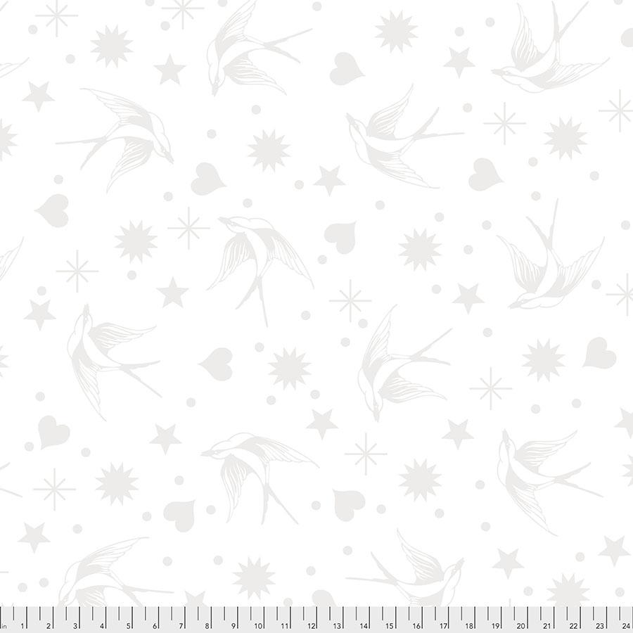 Tula - Lineworks - Fairy Flakes White