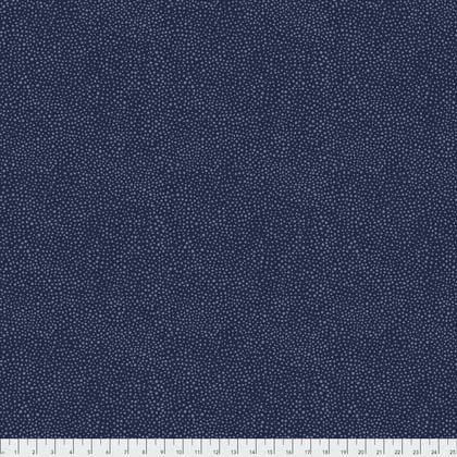 Morris & Co. - Seaweed Dot - PWWM008.Navy