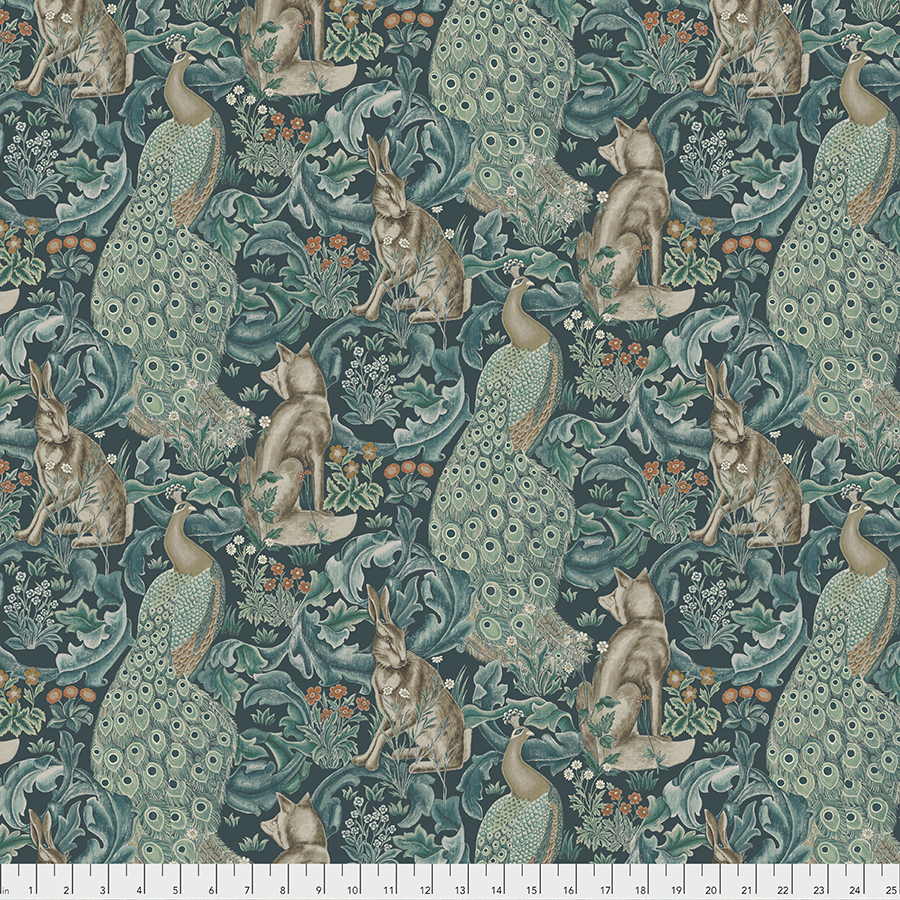Morris & Co. Standen - Forest - PWWM031.TEAL