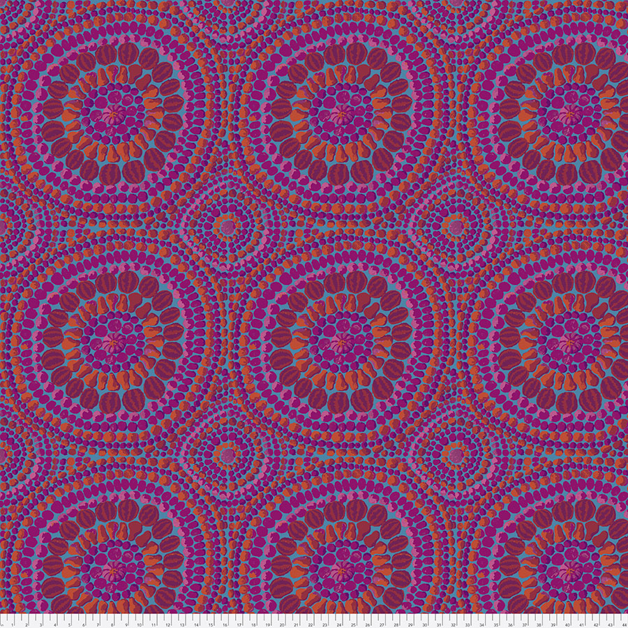 108 Back - Fruit Mandala Pink