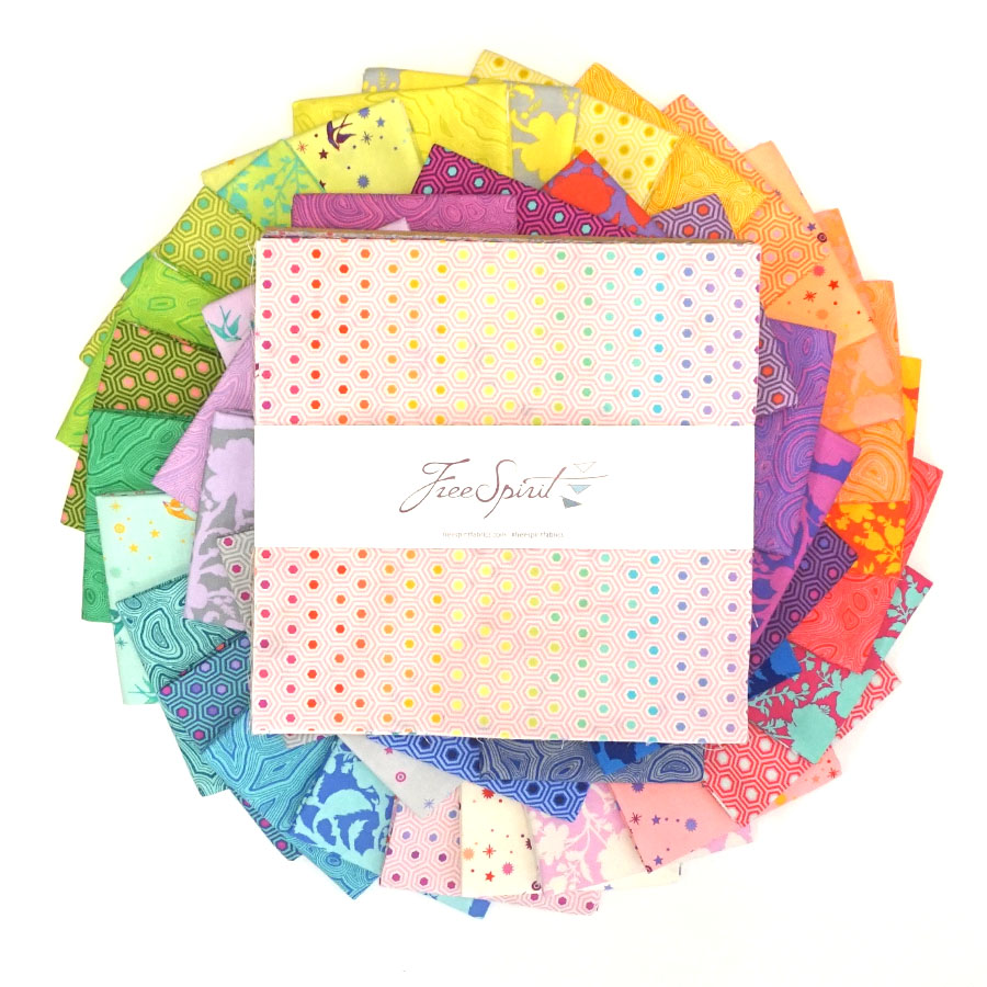 Tula's True Colors - 10 Squares - Layer Cake - Tula Pink
