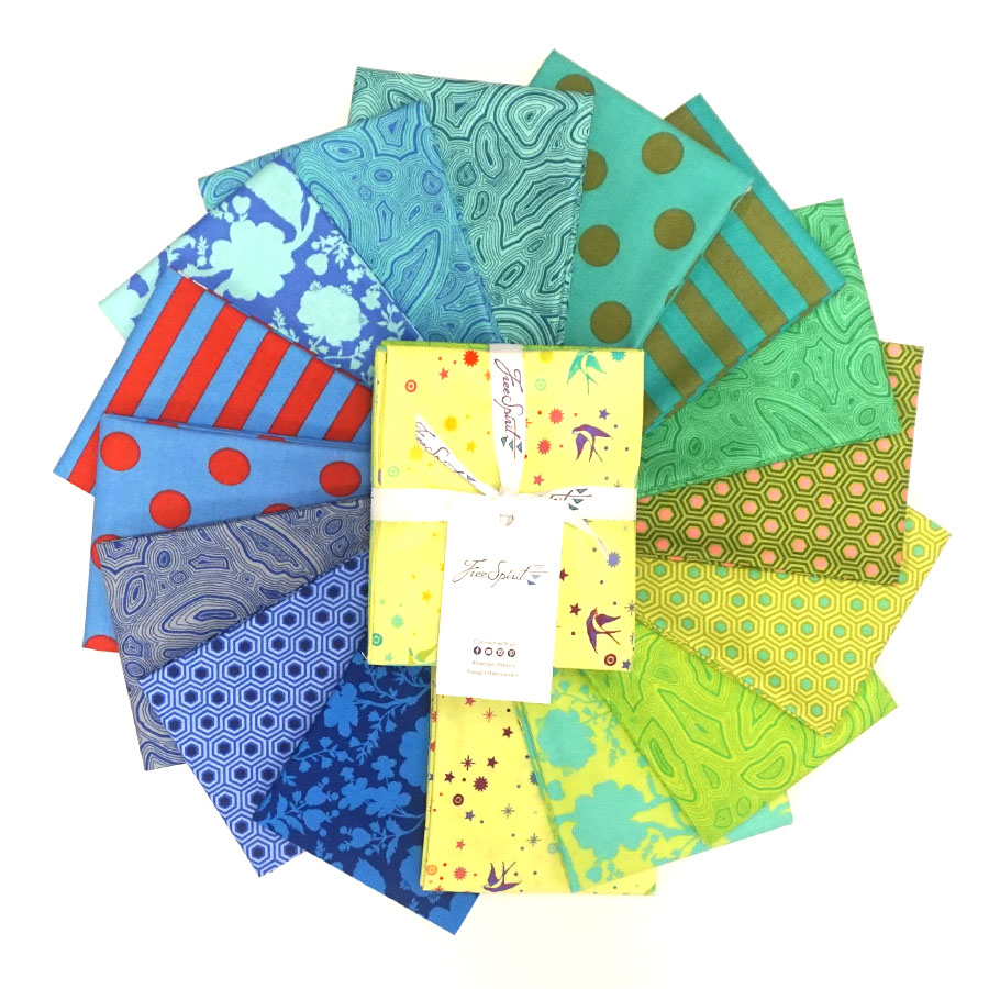 Tula's True Colors Starling - Fat Quarter Bundle