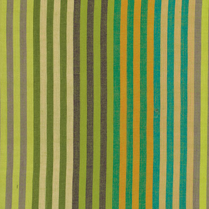 Caterpillar Stripe - Sprout - Kaffe Wovens