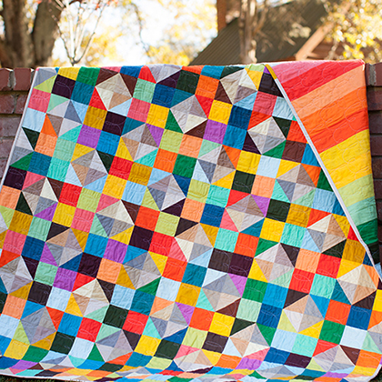 Woven Radiance Quilt Pattern for Tula Pink