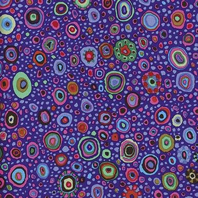 FreeSpirit Fabrics | Roman Glass - Purple | Kaffe Fassett Collective Classics | ...
