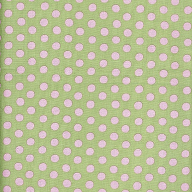 Spot on Mint  - Kaffe Fassett Collective by FreeSpirit Fabrics