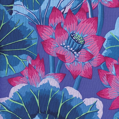 Lake Blossoms - Blue