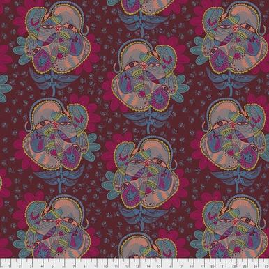 FreeSpirit Fabrics | Bird Watching - Spice | Tambourine | Anna Maria Horner