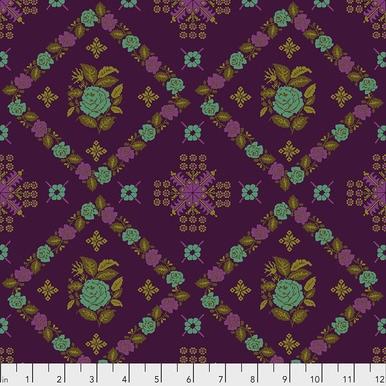 FreeSpirit Fabrics | Cornered - Regal | Tambourine | Anna Maria Horner