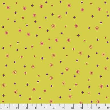 FreeSpirit Fabrics | Hidden - Saffron | Tambourine | Anna Maria Horner