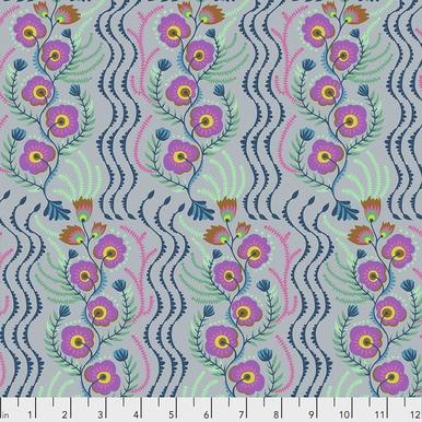FreeSpirit Fabrics | Messages - Lilac | Tambourine | Anna Maria Horner