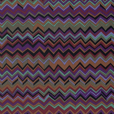 ZigZag Black by Brandon Mably of the Kaffe Fassett Collective for FreeSpirit Fabrics