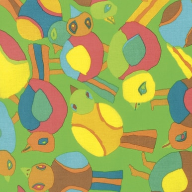 Round Robin in Lime by Brandon Mably of the Kaffe Fassett Collective for FreeSpirit Fabrics