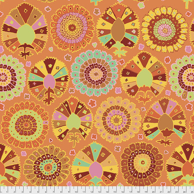 FreeSpirit Fabrics | Turkish Delight - Gold | Kaffe Fassett Collective Spring 20...