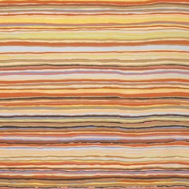 Strata on Autumn Colors - Orange, Yellow, Brown Stripes  - Kaffe Fassett Collective by FreeSpirit Fabrics