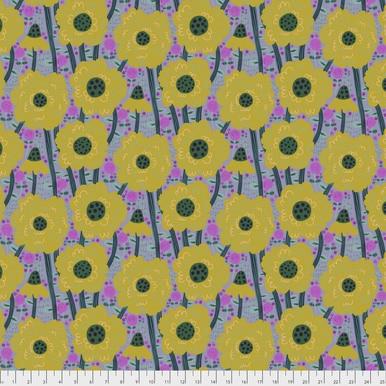 FreeSpirit Fabrics | Estelle - Saffron | Savernake Road | Monika Forsberg | Anna...