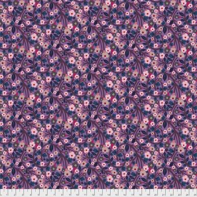 FreeSpirit Fabrics | Soma - Plum | Savernake Road | Monika Forsberg | Anna Maria...