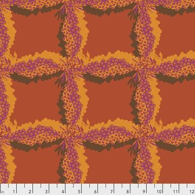 FreeSpirit Fabrics | Woven - Cinnamon |Seeds & Stems |Kathy Doughty