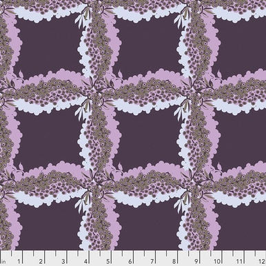 FreeSpirit Fabrics | Woven - Ink |Seeds & Stems |Kathy Doughty