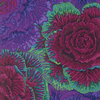 FreeSpirit Fabrics | Brassica - Purple| Kaffe Fassett Collective Classics | Kaff...