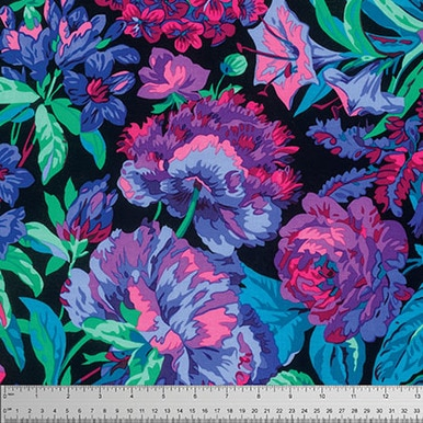 Kaffe Fassett Collective by Philip Jacobs - Voluptuous Black - PWPJ083