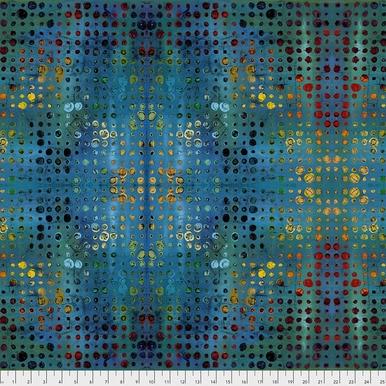 FreeSpirit Fabrics | Glow - Blue | Garden Bright | Sue Penn