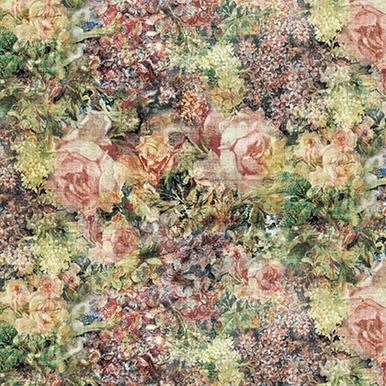 FreeSpirit Fabrics | Bouquet - Multi | Foundations | Tim Holtz Eclectic Elements