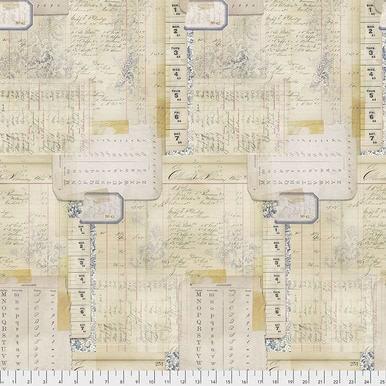 FreeSpirit Fabrics | Calendar - Multi |Memoranda 2 |Tim Holtz Eclectic Elements