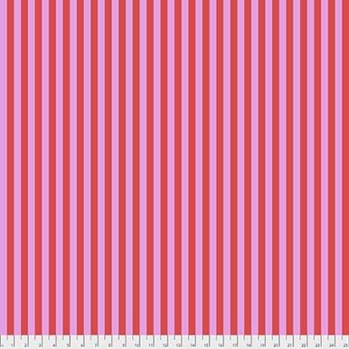 FreeSpirit Fabrics |  Tent Stripe - Poppy| True Colors|Tula Pink