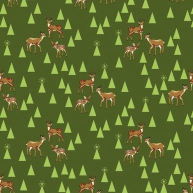 Holiday Homies Flannel Bambi Life - Pine Fresh