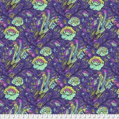 *FreeSpirit Fabrics    Tail Feathers - Iris  All Stars Tula Pink