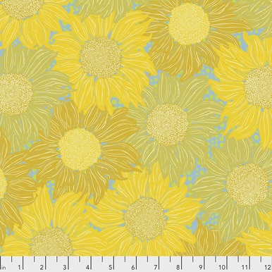 Murmer by Valorie Wells-Sunflower - Gold