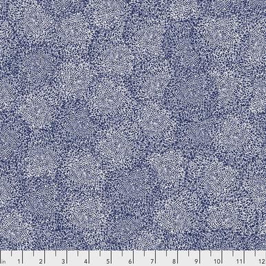 FreeSpirit Fabrics | Centers - Indigo |Murmur |Valori Wells