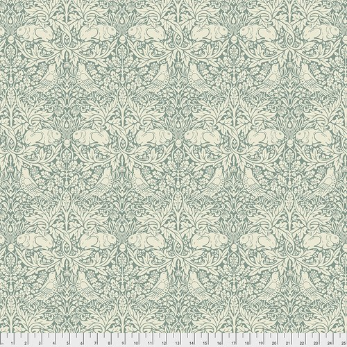 Morris & Co Standen - Brer Rabbit - PWWM026.TEAL
