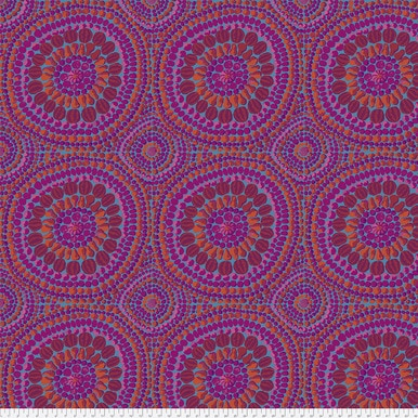 FreeSpirit Fabrics | Backing Fabric -Fruit Mandala - Pink | Kaffe Fassett Collec...