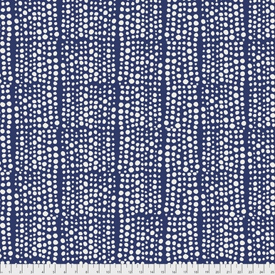FreeSpirit Fabrics | Backing Fabric -Dots - Indigo |Murmur |Valori Wells