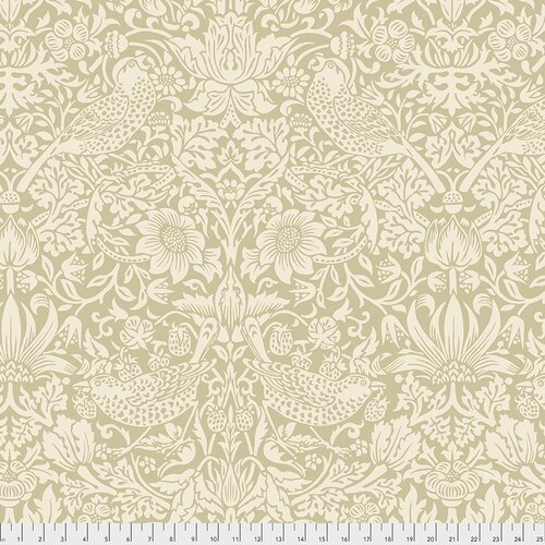 Free Spirit Morris & Co 108  Strawberry Thief - Linen