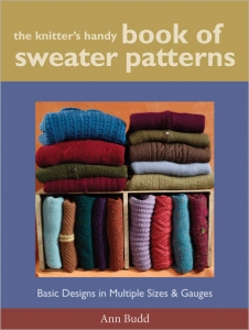 Knitters Handy Book Of Sweater Patterns by Ann Budd