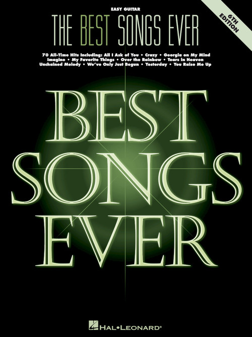 BEST SONGS EVER EASY GUITAR 6TH EDITION (00265750 ) (Guitar Folios )