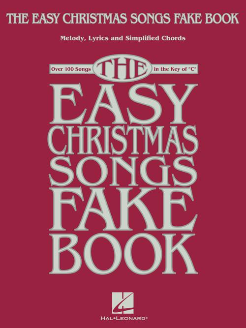 EASY CHRISTMAS SONGS FAKE BOOK (00277913 )