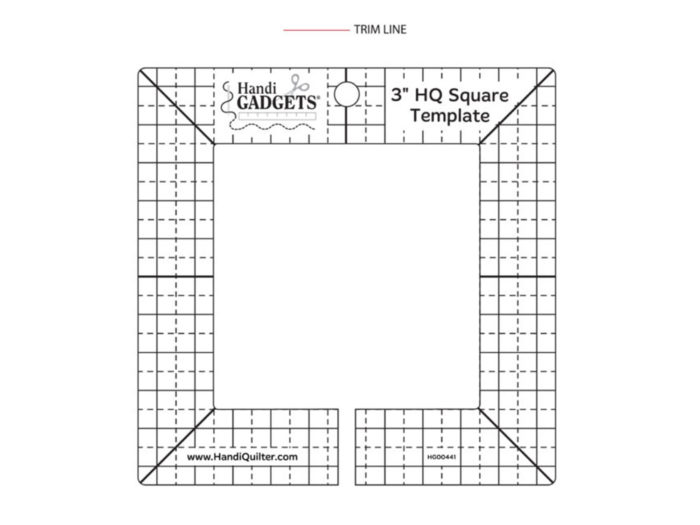 HQ 3 SQUARE TEMPLATE