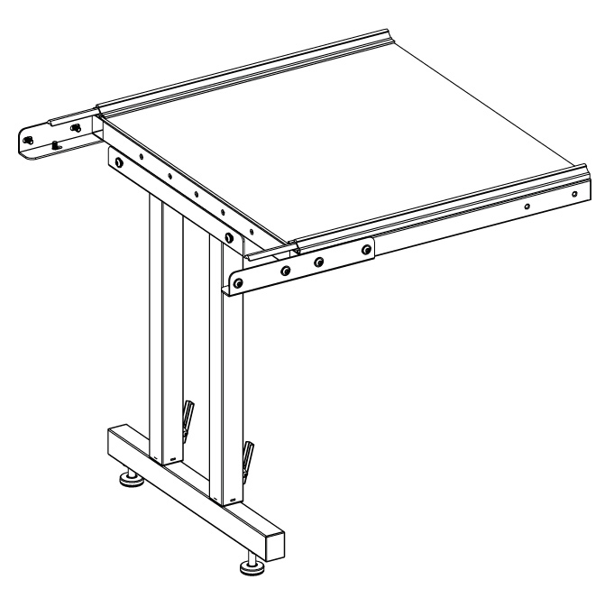 Gallery 2ft Extension Kit for 10 ft. table