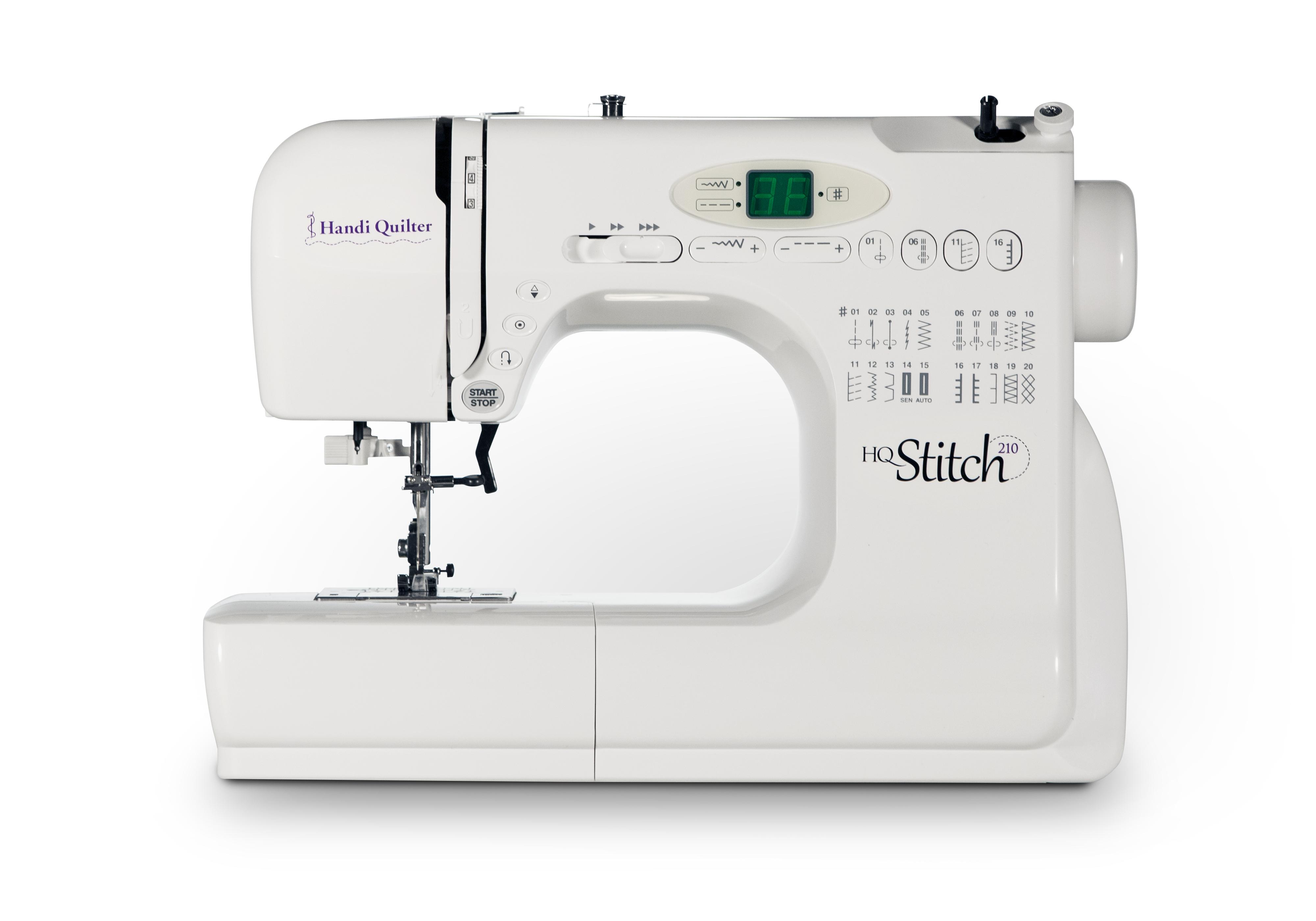 HQ Stitch 210 Sewing Machine